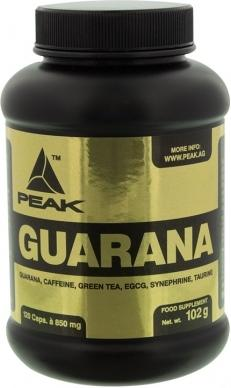 Peak Guarana Kapsler m/160mg Koffein