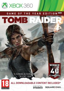 Tomb Raider - Game of the Year Edition til Xbox 360
