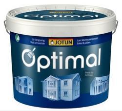 Jotun Optimal, Oksydrød base, 10L spann