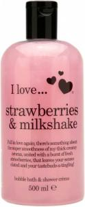 I Love... ... Strawberries & Milkshake Bath & Shower Crème