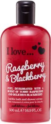 I Love... Raspberry & Blackberry Bath Shower Crème