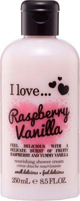 I Love... Raspberry & Vanilla Shower Créme