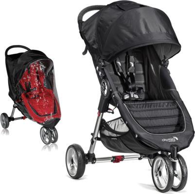 Baby Jogger City Mini Singel Trille inkl/Regntrekk