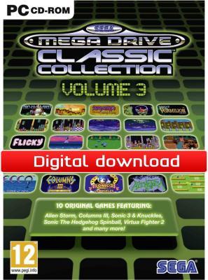 SEGA MegaDrive Collection 3