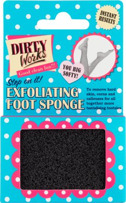 Dirty Works Exfoliating Foot Sponge