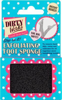 Dirty Works Exfoliating Foot Sponge