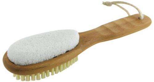 Ecotools Bamboo Foot Brush & File