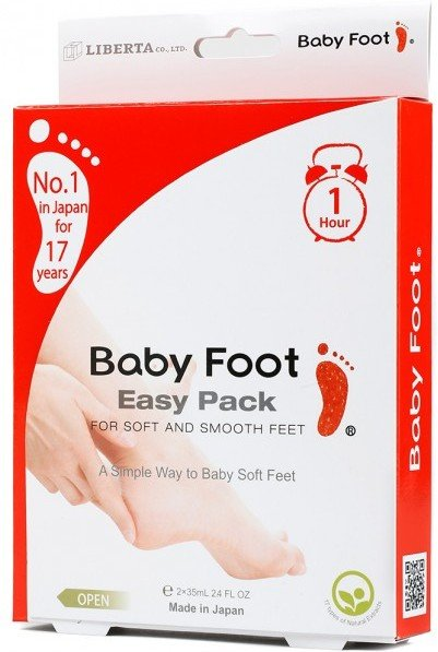 Baby Foot Easy Pack Fotpeeling