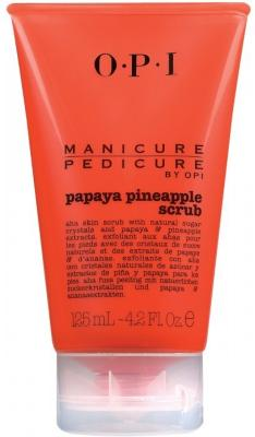 OPI Manicure Pedicure Papaya Pineapple Scrub 125ml