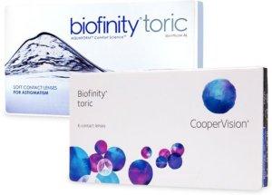 Cooper Vision Biofinity Toric 6p
