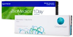 Cooper Vision Biomedics 1 Day Extra Toric 30p