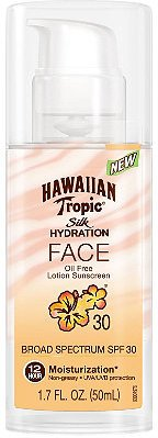 Hawaiian Tropic Silk Hydration Face SPF30 50ml
