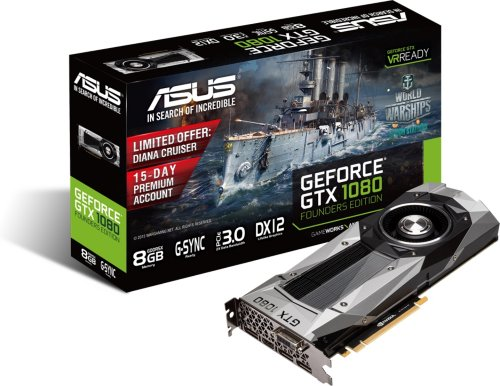 Asus GeForce GTX 1080 Founders Edition
