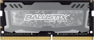Crucial Ballistix Sport LT DDR4 SO-DIMM 2400MHz 8GB (1x8GB)