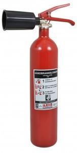 Orex CO2-slukker 2 KG