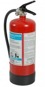 Orex Pulverslukker 6 KG