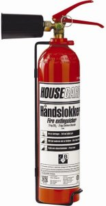 Housegard C02-slukker 2 KG
