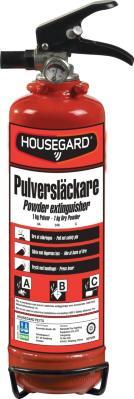 Housegard Pulverslukker 1 KG