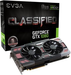 EVGA GeForce GTX 1080 Classified Gaming ACX 3.0