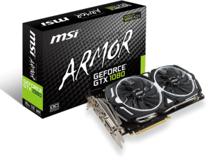 MSI GeForce GTX 1080 Armor OC