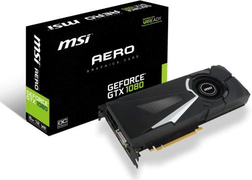 MSI GeForce GTX 1080 AERO OC