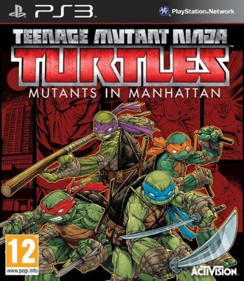 Teenage Mutant Ninja Turtles: Mutants in Manhattan til PlayStation 3