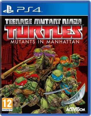 Teenage Mutant Ninja Turtles: Mutants in Manhattan til Playstation 4