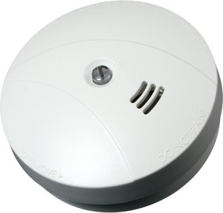 ICAS Chor optisk røykvarsler 9V/230V (6260098)
