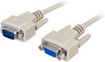 AESP Seriell forlengerkabel M/F 2m DB9 (9-pin)