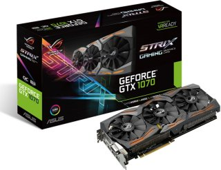 Asus GeForce GTX 1070 Strix Gaming