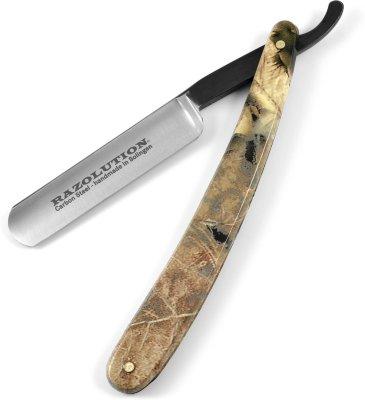 Razolution Deep Forest Karbon Barberkniv