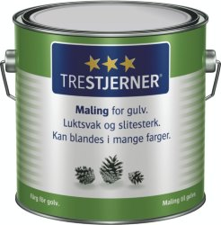 Scanox Trestjerners Maling for gulv A-base 3L spann