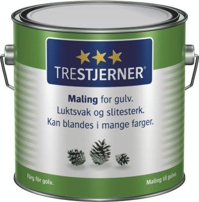 Scanox Trestjerners Maling for gulv A-base 3L spann