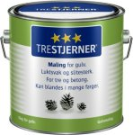 Scanox Trestjerners Maling for gulv Hvit 100 3L spann