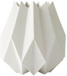 Menu Folded vase høy hvit