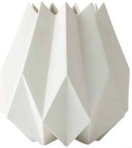 Menu Folded Vase høy, hvit