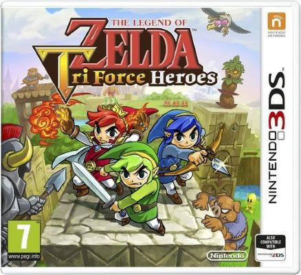 The Legend of Zelda: Tri Force Heroes til 3DS