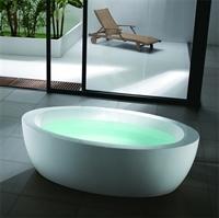 VikingBad frittstående badekar, 180 x 95 cm