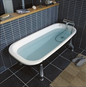 1500 frittstående badekar
