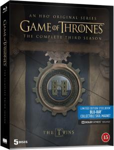 Game of Thrones Sesong 3 Steelbook