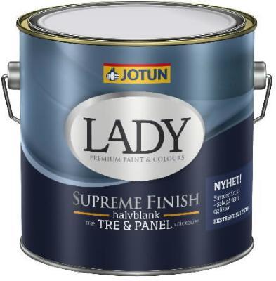 Jotun Lady Supreme Finish Halvblank (3 liter)