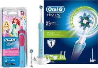 Best pris på Oral-B PRO 770 + Kids Princess - Se priser før kjøp i ... 78c9f2becb8b0