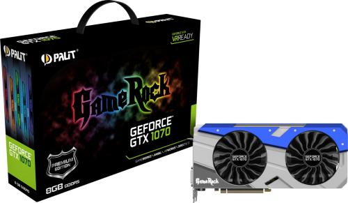 Palit GeForce GTX 1070 GameRock Premium Edition