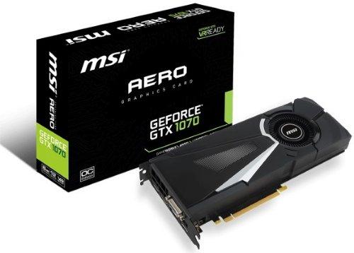 MSI GeForce GTX 1070 AERO 8G OC