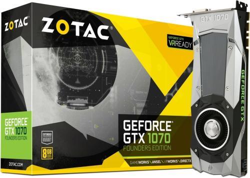 Zotac GeForce GTX 1070 Founders Edition