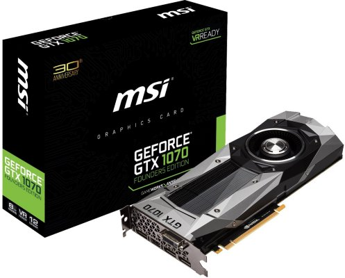 MSI GeForce GTX 1070 Founders Edition
