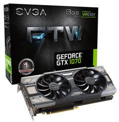 EVGA GeForce GTX 1070 FTW Gaming ACX 3.0