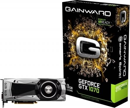 Gainward GeForce GTX 1070 Founders Edition