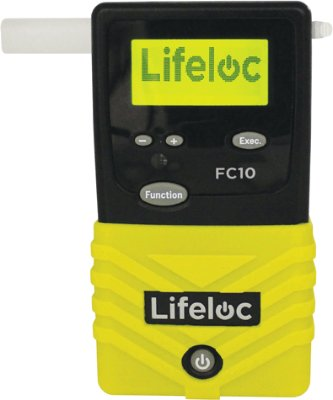Lifeloc FC10 alkometer