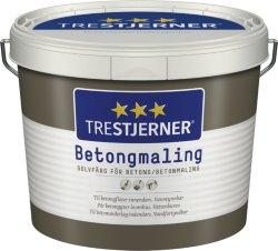Trestjerner Betongmaling (2,7 liter)